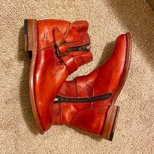 Bed Stu red booties!
